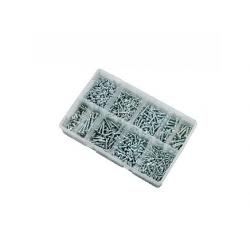 700 pce Pozi Pan AB Self Tapping Screw Kit. 4-10g BZP