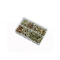 150 Pce High Tensile Setscrews Kit. M6 - M12 Zinc and Yellow