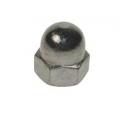 Dome Nut Din 1587 steel zinc plated