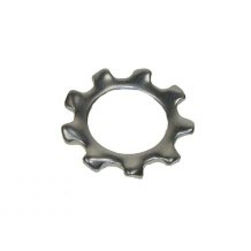 M8 External Serrated Shakeproof Lock Washer A2 Stainless