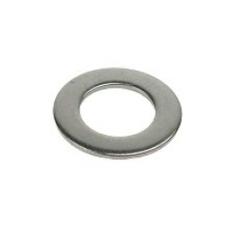 M2 Form A Flat Washer, stainless steel A2 (304), Din 125