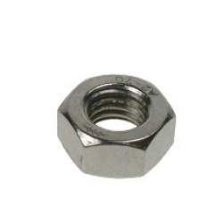 1/2 UNF Hexagon Full Nut, A2 stainless steel (304)