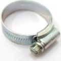 "Size 1A Jubilee Hose Clip (22-30mm / 7/8 - 1 1/8"" adjustment), steel zinc plated"
