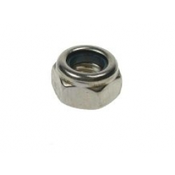 M2 Nyloc Nut, A2 stainless steel (304) Din 985