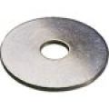 Penny/Repair/Mudguard washer steel zinc plated